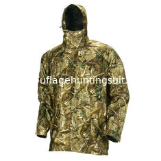 China Adjustable Cuffs And Hood Hunting Camo Clothing Multi Functional Camo Hunting Jacket supplier