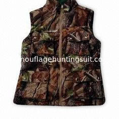 China Reversable Hunting Shooting Vest Hunting Set Camo Blaze Orange Fleece Hunting Set supplier