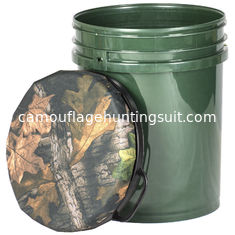 China Hunting Bucket Seat Camo Seat Fishing Barrel Seat Plastic Material 60CM supplier