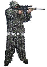 China Woodland Leafy Hunting Suit 3D Leaf Camouflage Complete Hunting Leafy Ghillie Suit supplier