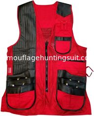 China Custom Lightweight Hunting Shooting Vest Breathable Clay Shooting Vest supplier