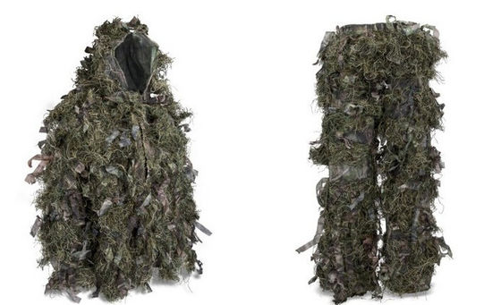 Good Quality Camouflage Hunting Suit & Hybrid Woodland Camouflage Ghillie Suit Lightweight Military Style Ghillie Suit on sale