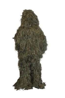 China Camo Leafy Ghillie Suit 3d Woodland Camouflage Forest Hunting Hide 5 Piece Bag distributor