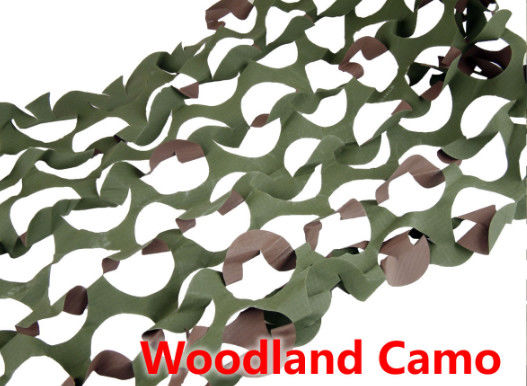 China Double Side Hunting Camouflage Netting Length Custom Color Size 210D Polyester factory