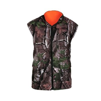 Good Quality Camouflage Hunting Suit & Outdoor Wear Hunting Shooting Vest Reversable Vest Camo Blaze Orange Fleece Game Fishing on sale