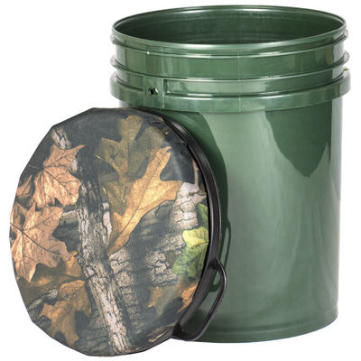 Hunting Bucket Seat Camo Seat Fishing Barrel Seat Plastic Material 60CM