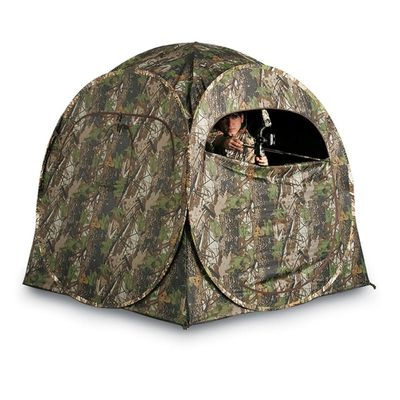China Outdoor Ground Shooting Hunting Tent Blinds One Person For Goose Deer hunting Pop Up Blinds factory