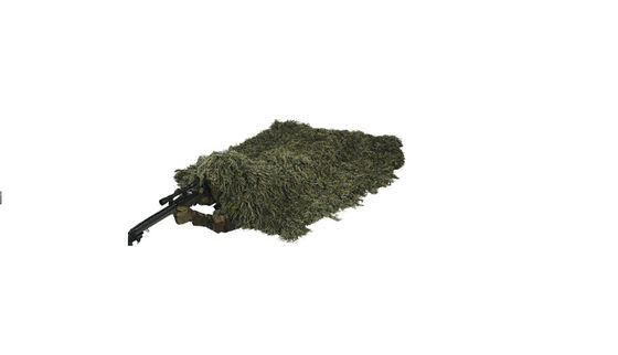 China Ghillie Blind Cover Light Weight Synthetic Military Tactical Woodland Camo Ghillie Blind factory