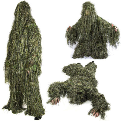 China Ground Blind Hunting Clothes Hunting Ghillie Suit Forest 3d Hunting Camo Clothing factory