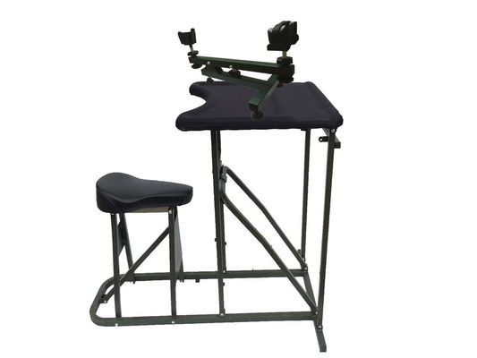 China Portable Folding Hunting Shooting Rest Shooting Table Bench Rest Iron Tube factory
